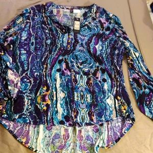 Manhattan Blues Blouse